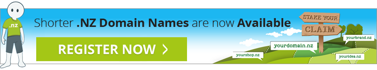 Shorter NZ Domain Names